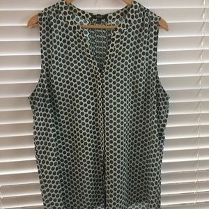NYDY Sleeveless patterned blouse Size L